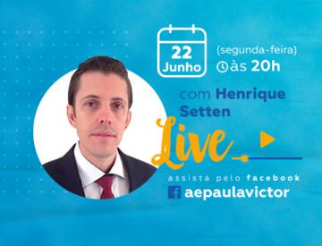 Palestra Online com Henrique Setten – 22/06