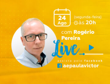 Palestra Online com Rogério Pereira – 24/08