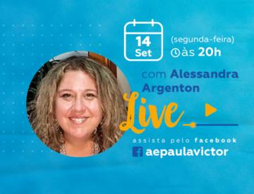 Palestra Online com Alessandra Argenton – 14/09