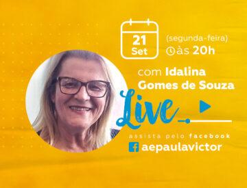Palestra Online com Idalina Gomes de Souza – 21/09