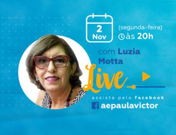 Palestra Online com Luzia Motta – 02/11