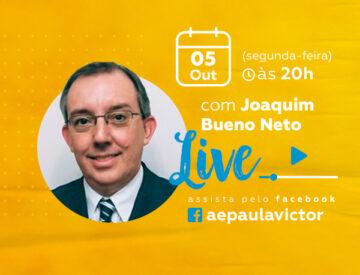 Palestra Online com Joaquim Bueno Neto – 05/10
