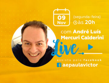 Palestra Online com  André Luís  Mercuri Calderini – 09/11
