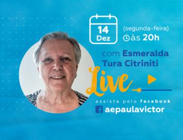 Palestra Online com Esmeralda Tura Citriniti – 14/12