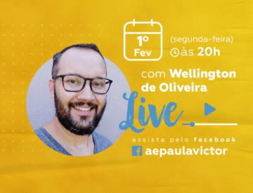Palestra Online com Wellington de Oliveira – 1º/02