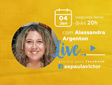 Palestra Online com Alessandra Argenton – 04/01