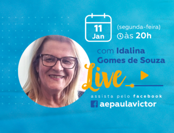Palestra Online com Idalina Gomes de Souza – 11/01