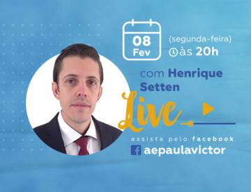 Palestra Online com Henrique Setten – 08/02