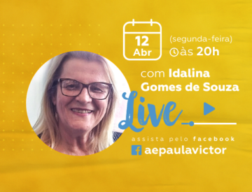Palestra Online com Idalina Gomes de Souza – 12/03