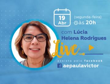 Palestra Online com Lúcia Helena Rodrigues – 19/04