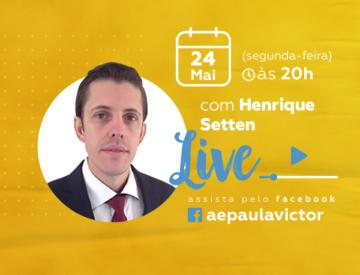 Palestra Online com Henrique Setten – 24/05